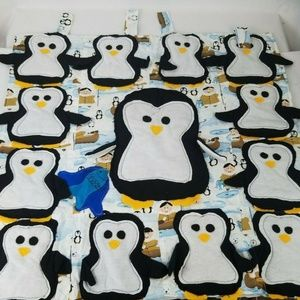 Other - Penguins Nursery Infant Toddler Window Wall Panel